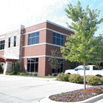 Franklin's Redstone Building after professional commercial coating application